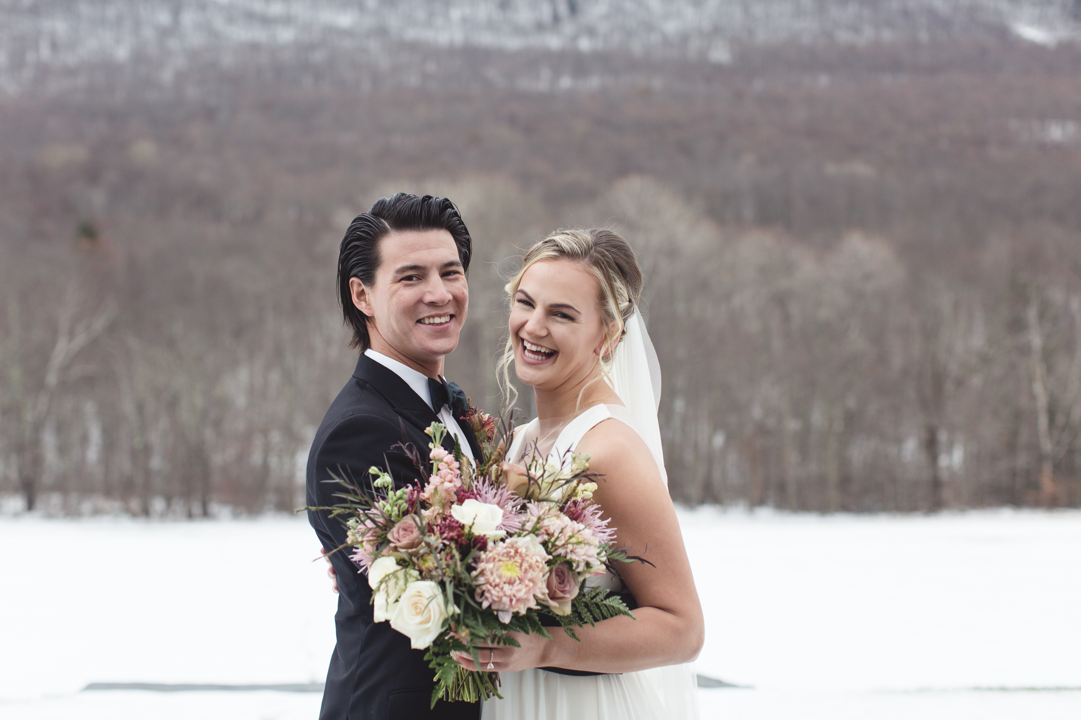 Katherine and Brian – Hancock, MA.